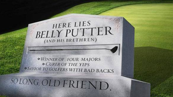 The End of the Belly Putter?